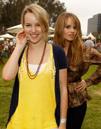 Bridgit Mendler and Debby Ryan at the 21st A Time For Heroes Celebrity Picnic to benefit the Elizabeth Glaser Pediatric Aids Foundation in California.