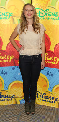 Bridgit Mendler at the Disney ABC Television Group Host