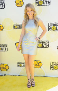 Bridgit Mendler at the California premiere of