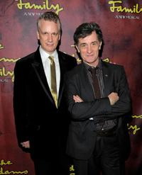 Rick Elice and Roger Rees at the after party of the premiere of