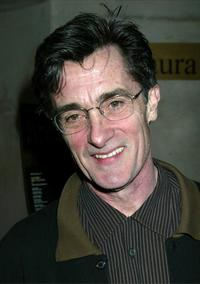 Roger Rees at the New York afterparty for the opening of