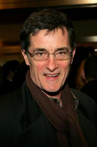 Roger Rees at the New York opening night of