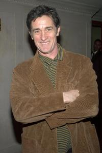 Roger Rees at the New York afterparty for the opening night of the play