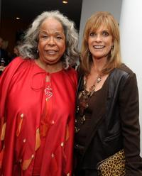 Della Reese and Linda Gray at the after party of the premiere of
