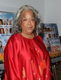 Della Reese at the premiere of