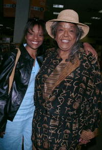 Della Reese and her daughter Deloreese at