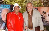 Della Reese and Franklin Lett Jr. at the AARP The Magazine's Hollywood issue celebration.