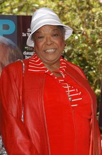 Della Reese at the AARP The Magazine's Hollywood issue celebration with guest Liz Smith.