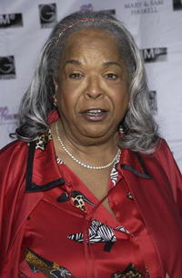 Della Reese at the celebration for B.B. King's 80th birthday.
