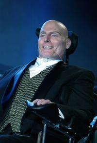 Christopher Reeve at the Christopher Reeve Paralysis Foundation 13th Annual 'A Magical Evening' Gala.