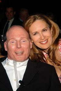 Christopher Reeve and Dana at the 25th annual AAFA American Image Awards.