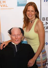 Christopher Reeve and his wife Dana at the screening of