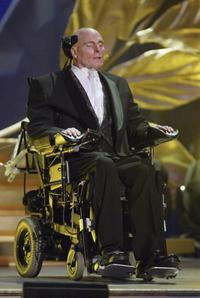 Christopher Reeve at the World Awards.