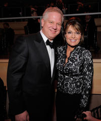 Glenn Beck and Sarah Palin at the Time's 100 Most Influential People in the World Gala in New York.