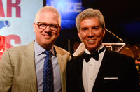 Glenn Beck and Michael Buffer at the Dish Network