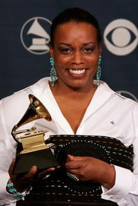 Dianne Reeves at the 48th Annual Grammy Awards.