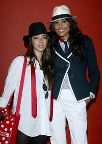 Oona Chaplin and Jeanene Fox at the photocall of
