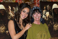 Oona Chaplin and Geraldine Chaplin at the photocall of