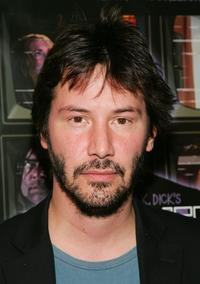 Keanu Reeves at the Film Society screening of