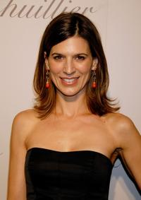 Perrey Reeves at the opening of Monique Lhuillier Salon.