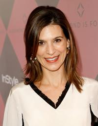 Perrey Reeves at the Diamond Information Center and InStyle Diamond Fashion Show.