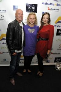 Gary Sweet, Tracey Vieira and Claire Van Der Boom at the screening of