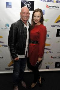 Gary Sweet and Claire Van Der Boom at the screening of