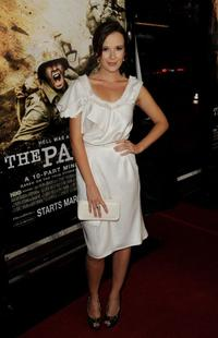 Claire Van Der Boom at the premiere of
