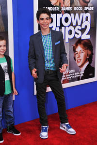 Cameron Boyce at the New York premiere of
