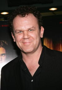 "John C. Reilly at the premiere of ""Dark Water"" in New York City."