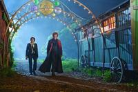 Chris Massoglia as Darren Shan and John C. Reilly as Larten Crepsley in