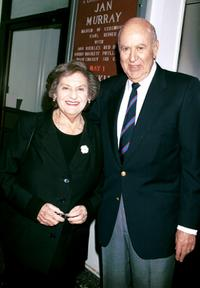 Estelle Reiner and Carl Reiner at the Friars Club Tribute To Jan Murray.