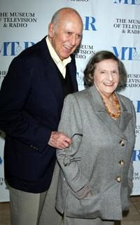 Director Carl Reiner and his wife Estelle Reiner at the LA premiere Screening of