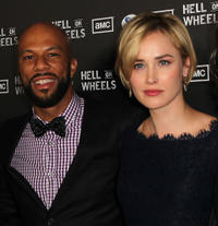 Common and Dominique McElligott at the California premiere of