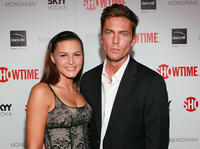 Eve Mauro and Desmond Harrington at the Showtime's 2010 Emmy nominee Reception.