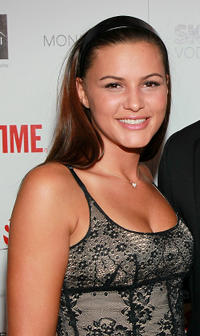 Eve Mauro at the Showtime's 2010 Emmy nominee Reception.