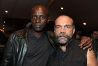 Souleymane Sy Savane and Sam Childers at the California premiere of