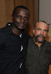 Souleymane Sy Savane and Machine Gun at the Have A Heart For Children Charity Fundrasing Event in California.