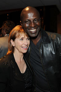 Kathy Baker and Souleymane Sy Savane at the California premiere of
