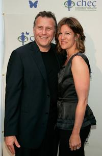 Paul Reiser and wife Paula Ravets at the Children's Health Environmental Coalition's (CHEC) annual benefit.
