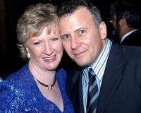 Paul Reiser with fan Bridget Spiess at the Sarasota Film Festival.