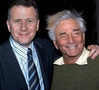 Paul Reiser and Peter Falk at the Sarasota Film Festival.