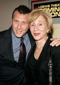 Paul Reiser and Olympia Dukakis at the premiere of