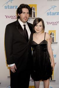 Jason Reitman and Ellen Page at the 11th Annual Hollywood Awards.
