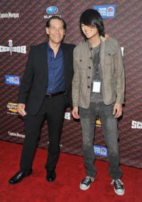 James Remar and his son Jason at the Spike TV's 2008 Scream Awards.
