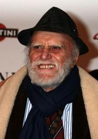 Remo Remotti at the Rome screening of