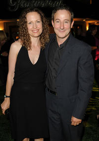 Eddie Jemison and Guest at the after party of California premiere of