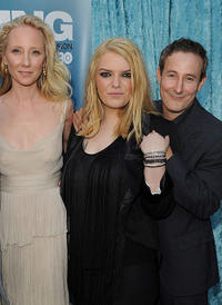 Anne Heche, Sianoa Smit-McPhee and Eddie Jemison at the California premiere of