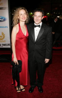 Eddie Jemison and Guest at the premiere of