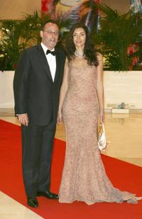 Jean Reno and Zofia Borucka at the 59th International Cannes Film Festival.